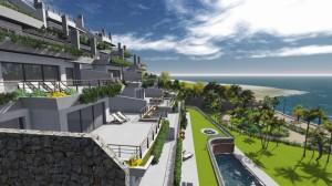 Beachfront apartments Estepona