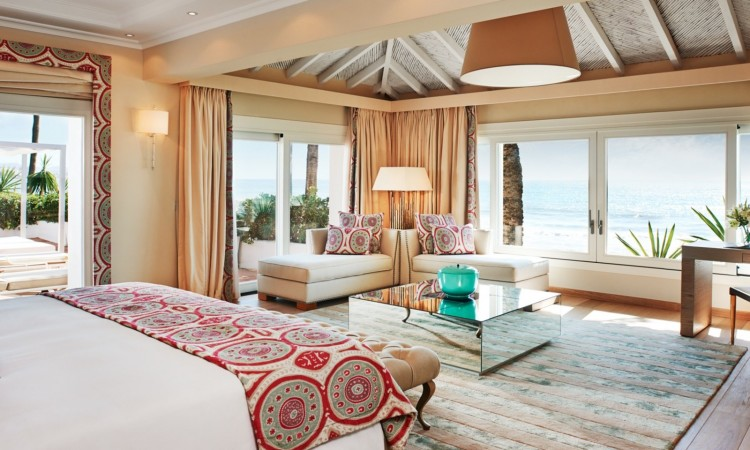 Villa del Mar Bedroom Marbella Club Hotel
