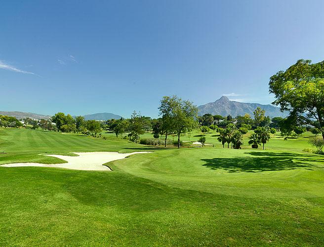 Golfing in Marbella